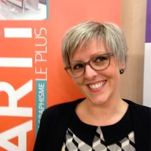 Laura Gardet, directrice de l'école de graphisme Garti